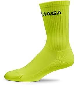 Balenciaga Men's Fluo Tennis Socks