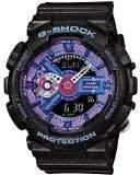 Casio Women's G- Shock GMAS110HC-1A Plastic Quartz Watch