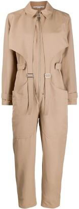 Stella McCartney Buckle-Embellished Cargo Jumpsuit