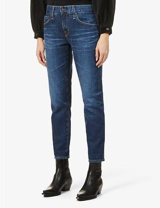 AG Jeans Ex-Boyfriend slim-fit mid-rise jeans