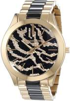 Michael Kors Women's Runway MK3315 Gold Stainless-Steel Quartz Watch