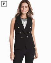 White House Black Market Petite Trophy Vest