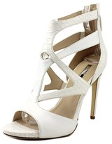 GUESS Arely Women Open-toe Leather White Heels.