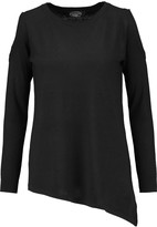 Magaschoni Cutout silk and cashmere-blend sweater