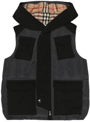 BURBERRY KIDS Quilted vest