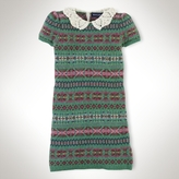 Crochet & Fair Isle Dress
