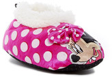 Josmo Minnie Mouse Faux Fur Slipper (Toddler & Little Kid)