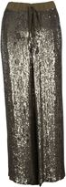 P.A.R.O.S.H. Full Sequins Straight Pants