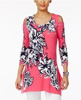 JM Collection Off-The-Shoulder Floral-Print Top, Only at Macy's