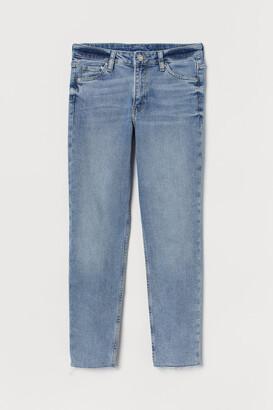 H&M Girlfriend Regular Ankle Jeans