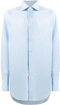 Brioni Cutaway Collar Formal Shirt
