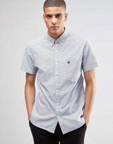 Selected Short Sleeve Oxford Shirt