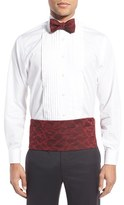 David Donahue Men's Silk Cummerbund & Bow Tie Set