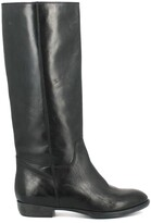 Jonak 1137 Flat Leather Knee-High Boots
