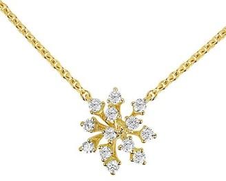 Hueb Luminus 18K Yellow Gold & Diamond Pendant Necklace