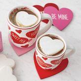Sur La Table Conversation Hearts Coasters, Set of 4