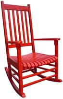 International Concepts Classic Red Porch Rocking Chair - Outdoor