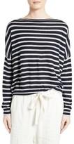 Vince Women's Skinny Stripe Cashmere Sweater