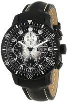 Fortis Men's 638.28.17 L.01 B-42 Official Cosmonauts Black Art-Edition-Dial Automatic Chronograph Watch