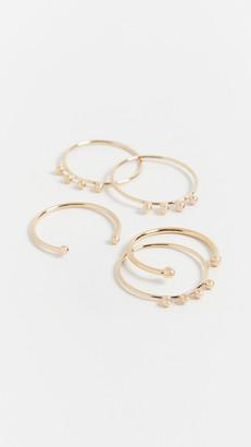 Isabel Marant Nirvana Stackable Ring Set