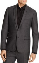 Sandro Notch Micro Check Regular Fit Sport Coat - 100% Exclusive