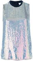 3.1 Phillip Lim iridescent sequin top