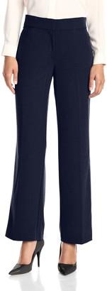 Briggs New York Women's Curvy Bistretch Straight Leg Pant Average