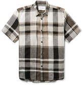 Our Legacy Checked Linen Shirt