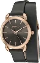 SO & CO New York Women's 5086.3 SoHo Analog Display Quartz Watch