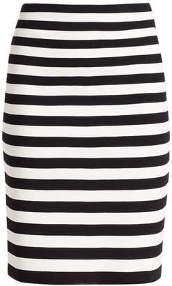 Akris Punto Striped Pencil Skirt