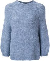 Humanoid mid-length sweater