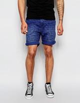 Scotch & Soda Canvas Shorts - Blue