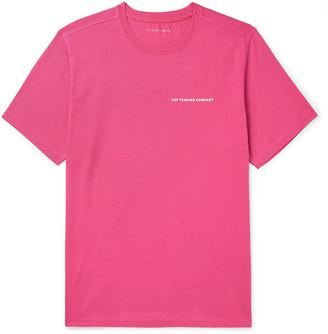Pop Trading Company Logo-Print Cotton-Jersey T-Shirt