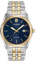 Citizen Eco-Drive Corso Mens Two-Tone Stainless Steel Watch BM7334-58L