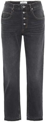 Etoile Isabel Marant Garance cropped straight jeans