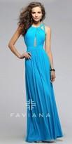 Faviana Avery Illusion Prom Dress