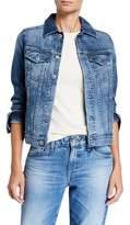 AG Jeans Mya Button-Down Denim Jacket
