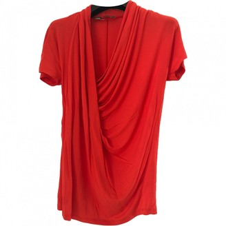 Max Mara Red Top for Women