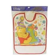 Disney Pooh 1st Birthday Bib -1/Pkg.