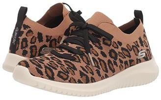Skechers Ultra Flex - Safari Tour (Leopard) Women's Shoes