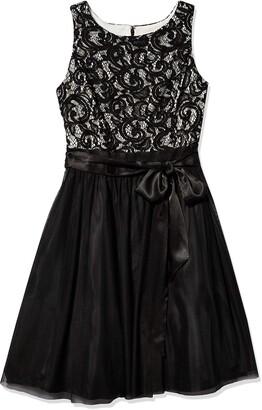 Jessica Howard JessicaHoward Women's Sleeveless Inset Waist Dress