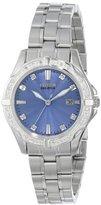 Citizen Eco-Drive Women's EW1920-53L Diamonds Analog Display Silver Watch