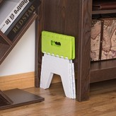 Folding Adults and Kids Kitchen Bathroom and Bedroom Step Stool Basicwise