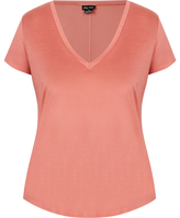 City Chic The Edit - Pocket V Neck Top