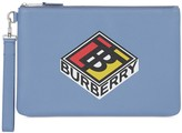 Burberry graphic logo pouch