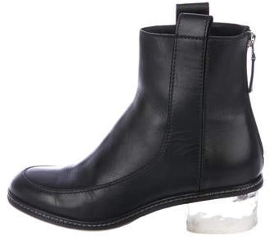 d78719ba Leather Ankle Boots Black Leather Ankle Boots
