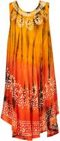 Izabel London Tie Dye Batik Print Dress