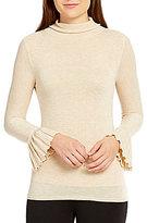 M.S.S.P. Long Bell Sleeve Turtleneck Sweater