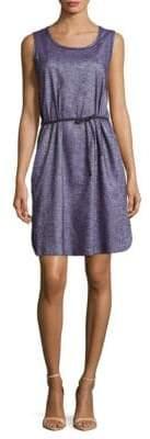 Lafayette 148 New York Dayton Chambray Linen-Blend Dress