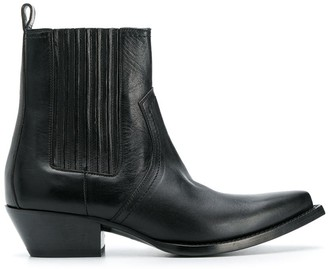 Saint Laurent Lukas Chelsea cowboy boots